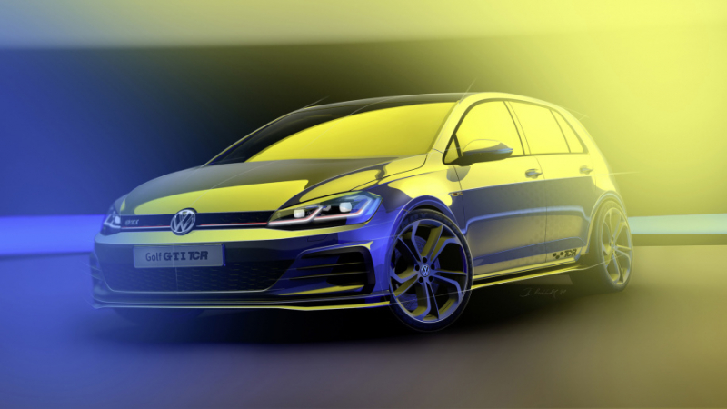 VW Golf GTI TCR Prototype Will Debut Next Week in Austria