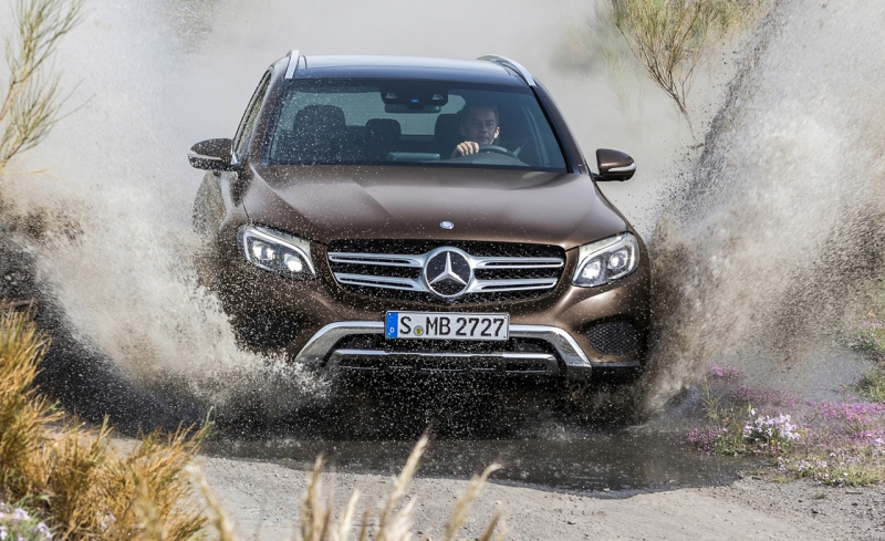 Top Safety Pick: Mercedes-Benz GLC-Class