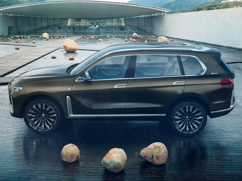 BMW X7 concept: Leaked pictures