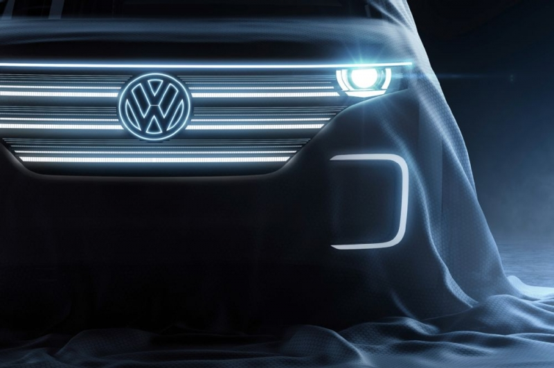 Volkswagen will present a new all-electric concept car at the 2016 Consumer Electronics Show
