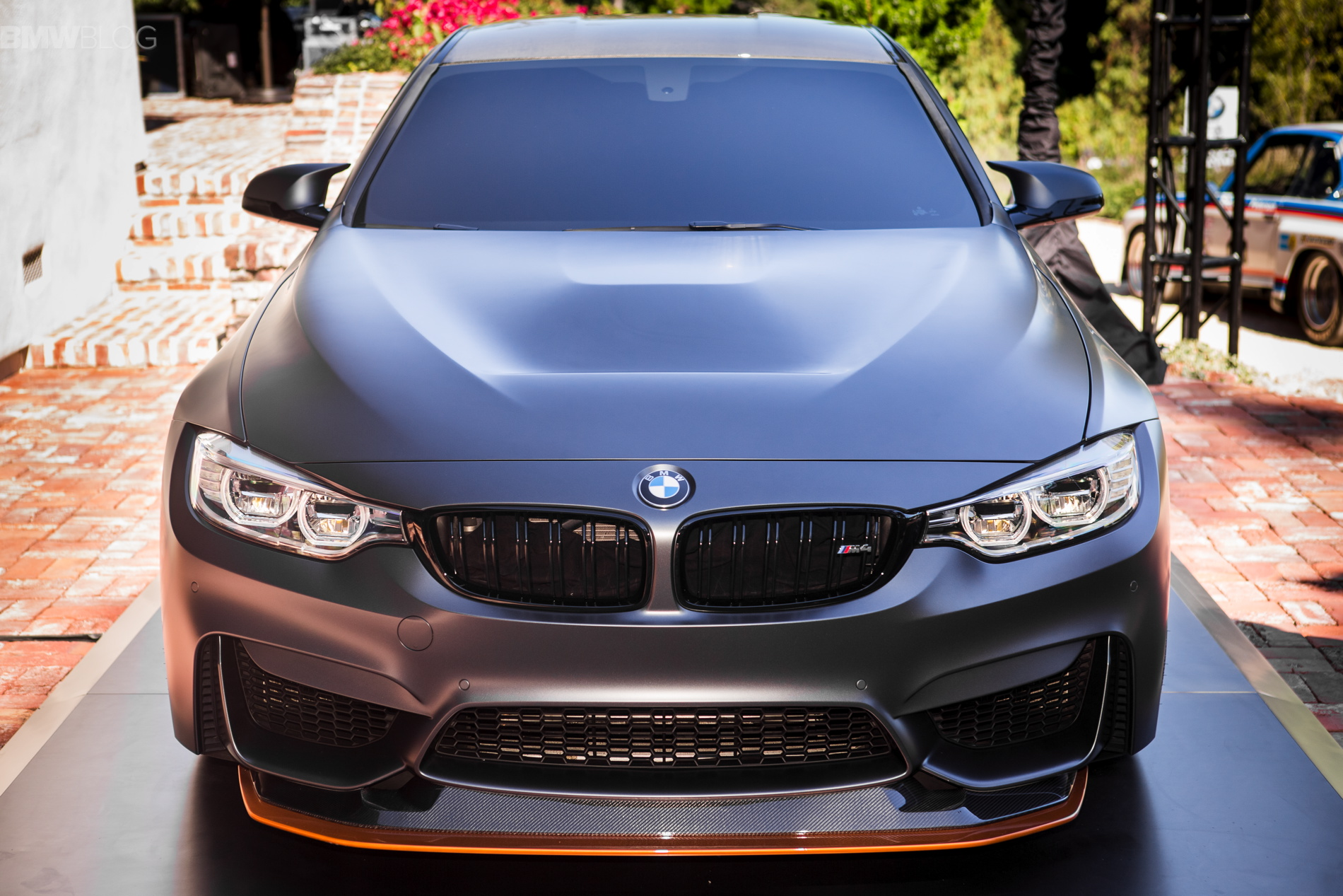 Track-ready BMW M4 concept production model coming next year