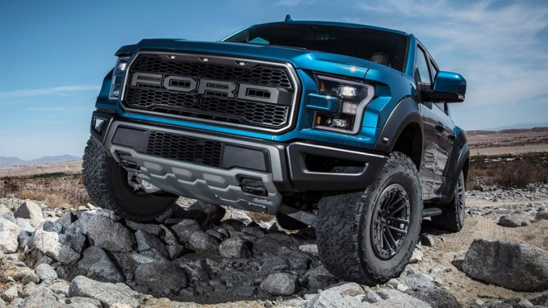 The Ford F-150 Raptor Will Use Adaptive Dampers For Better Landings
