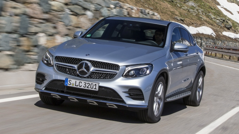First drive review: 2017 Mercedes-Benz GLC300 4Matic Coupe!