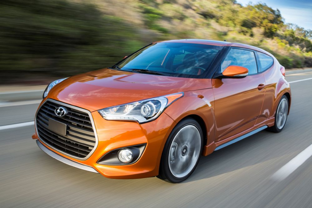 The unusual still practical 2016 Hyundai Veloster Turbo