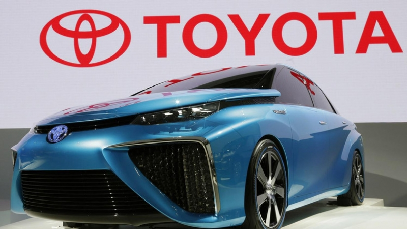 A production shutdown on Toyota's assembly plants after the earthquakes in Japan