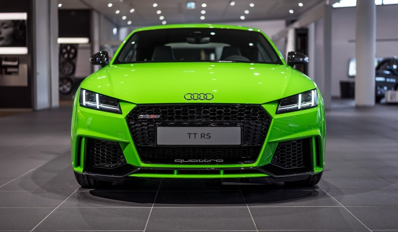 Audi TT RS comes more expensive than a Porsche Cayman
