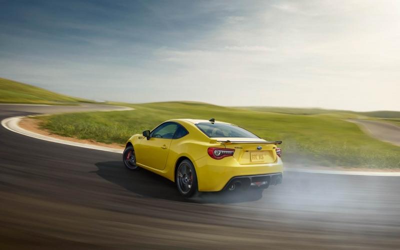 Subaru BRZ Yellow edition will totally kill it!