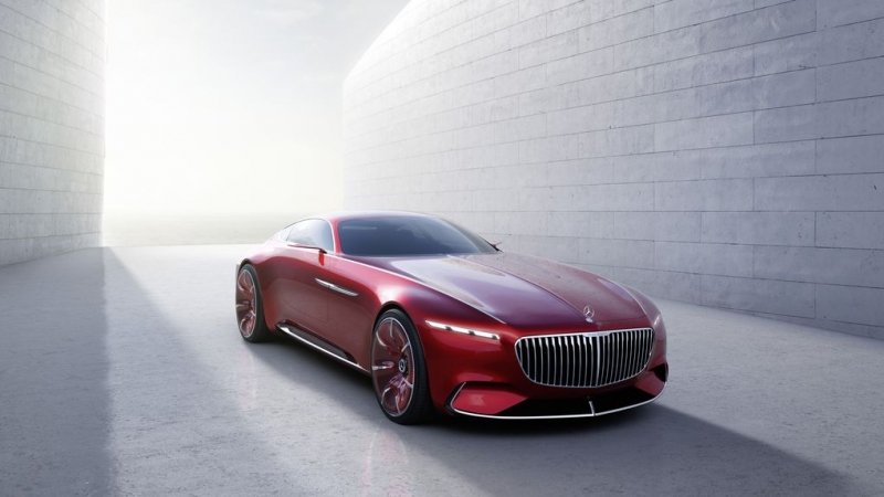 Mercedes unveils Maybach concept car in all its retro-inspired glory!