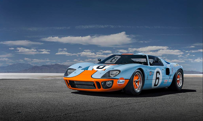 The glory of the famous Ford GT40 is alive