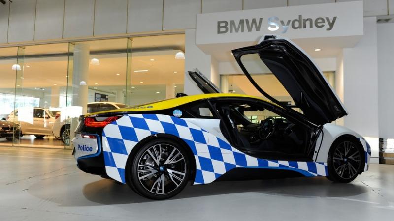 2016 BMW i8 for Australian police