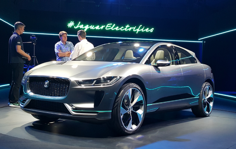 New Jaguar I-Pace concept points to electric future