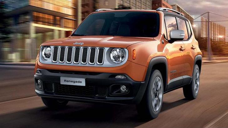 The Jeep Renegade - a subcompact crossover