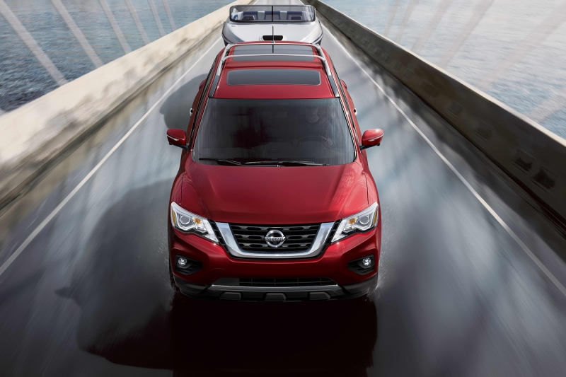 The 2017 Nissan Pathfinder makes its comeback!