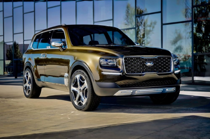 The new Kia Telluride concept is a futuristic crossover