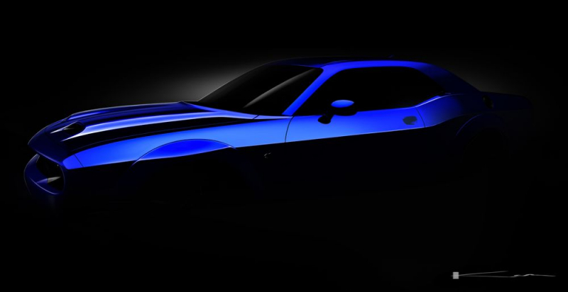Dodge Challenger SRT Hellcat New Facelift Previewed