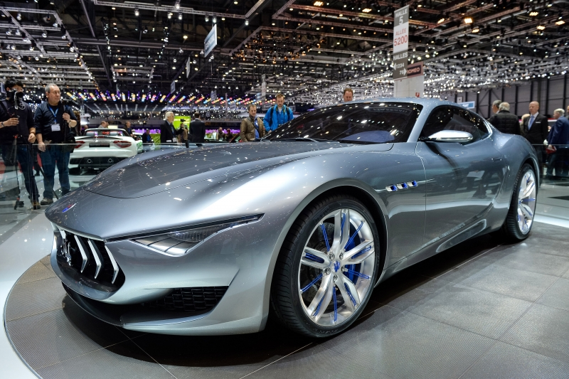 An electric Maserati will be launched by 2019!