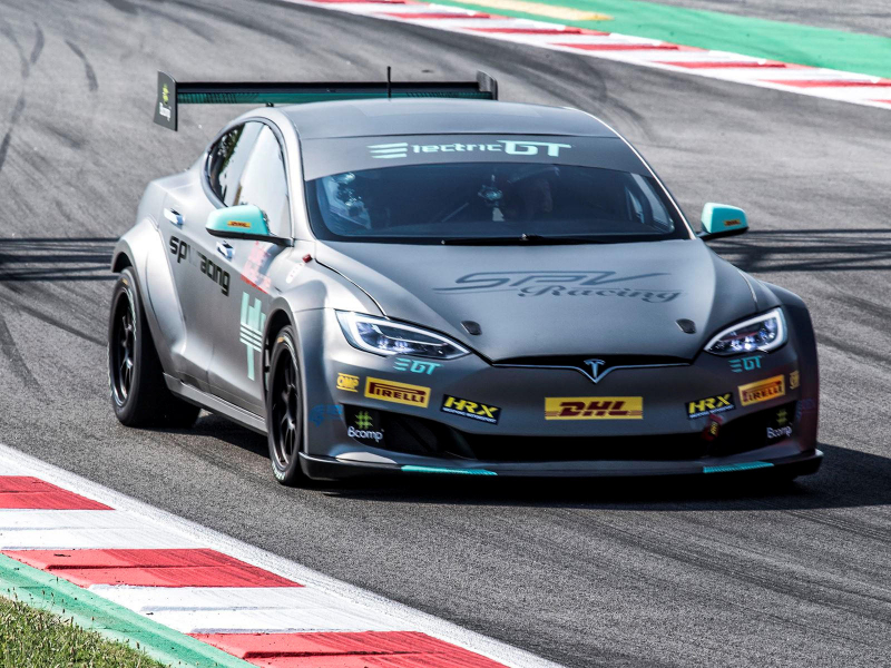 Tesla Model S Electric GT Race Car Ready To Hit The Track