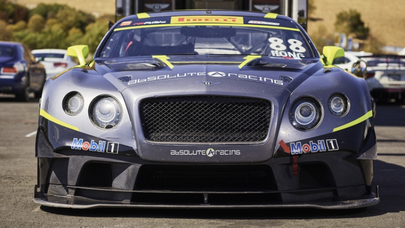 Bentley Continental GT3: the most unlikely race car?