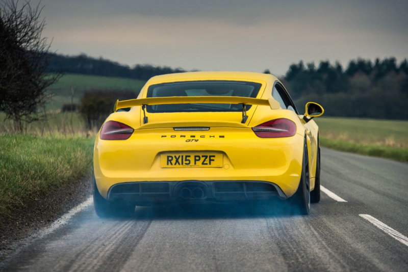 A one-off electric Cayman has been cooked up by Porsche