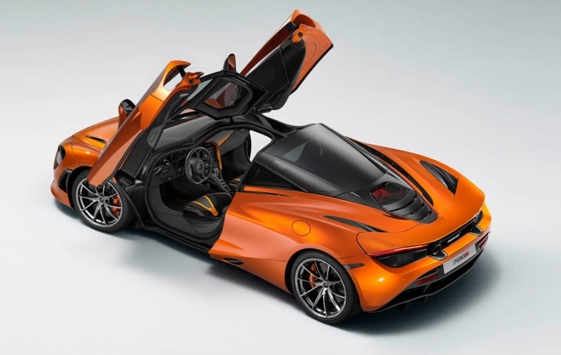 Lego McLaren 720S weighs more than the actual car