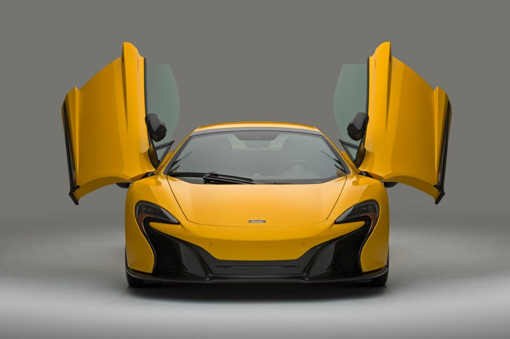 The 2016 McLaren 650S with additional carbon fiber