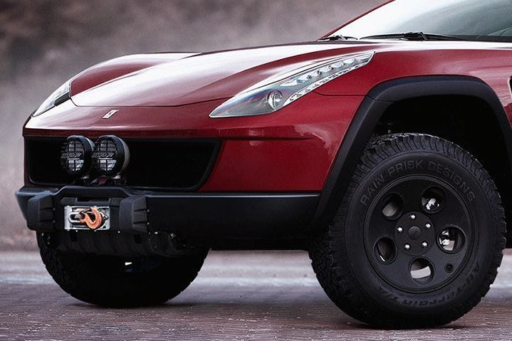 An eyebrow-raising off-road variant of the Ferrari FF?!