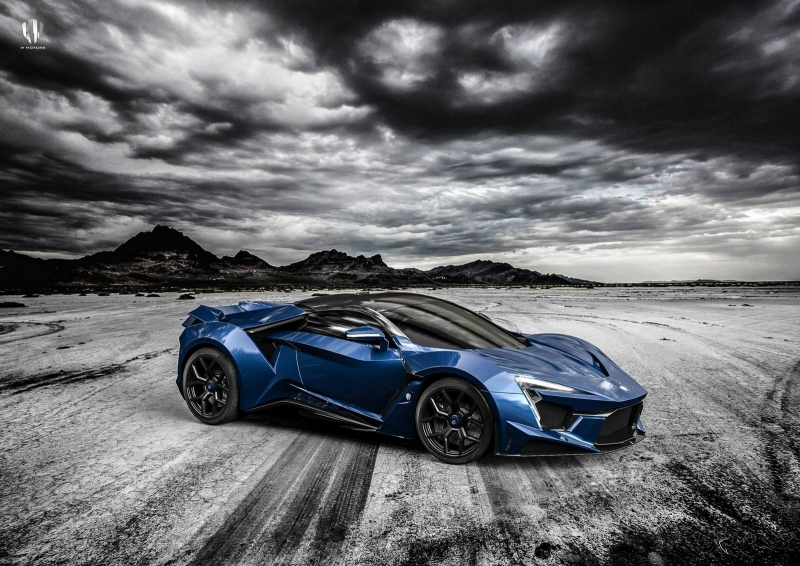 The new Fenyr Supersport is the more impressive Middle Eastern supercar
