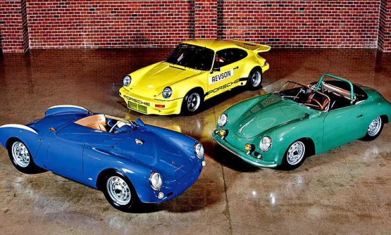 Three of Jerry Seinfeld's prized Porsches Headed to Auction for $10 million