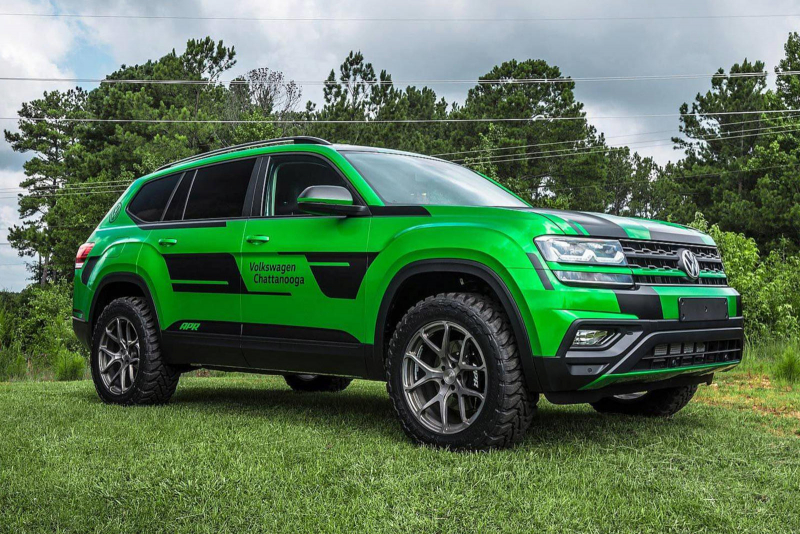 Volkswagen Atlas Gets Angry Makeover And 350 HP
