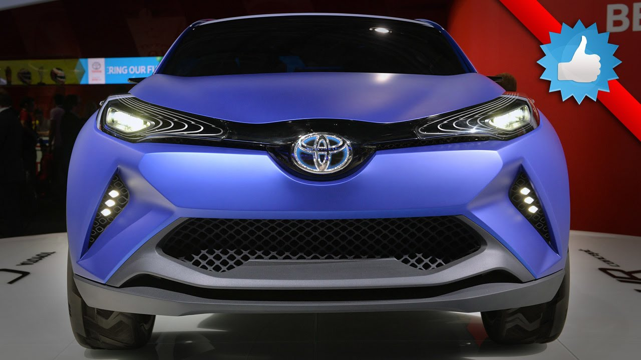 Toyota's C-HR compact crossover will become a Scion in US