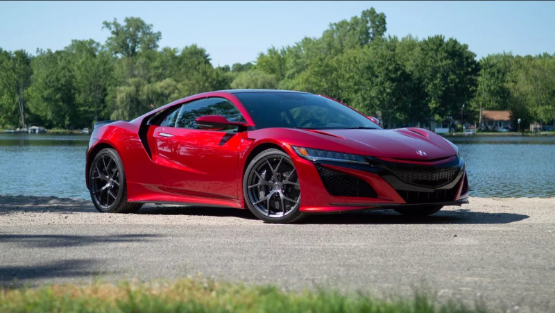 The first Acura NSX sold for $1.2 million at auction