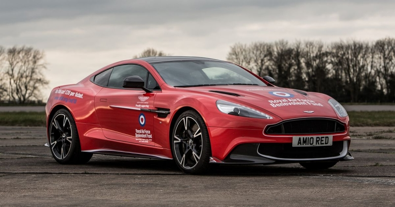 You can be the owner of this Aston Martin Vanquish S Red Arrow for only $23