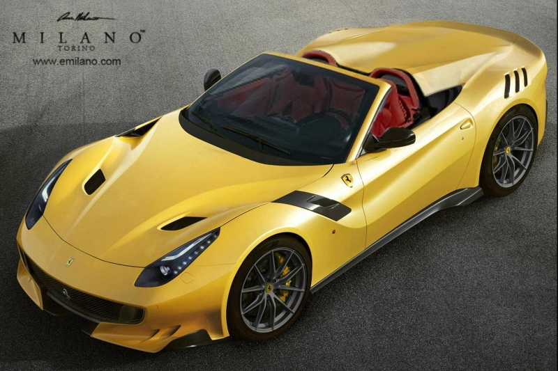 An Aperta Ferrari F12 TDF between reality and aspiration