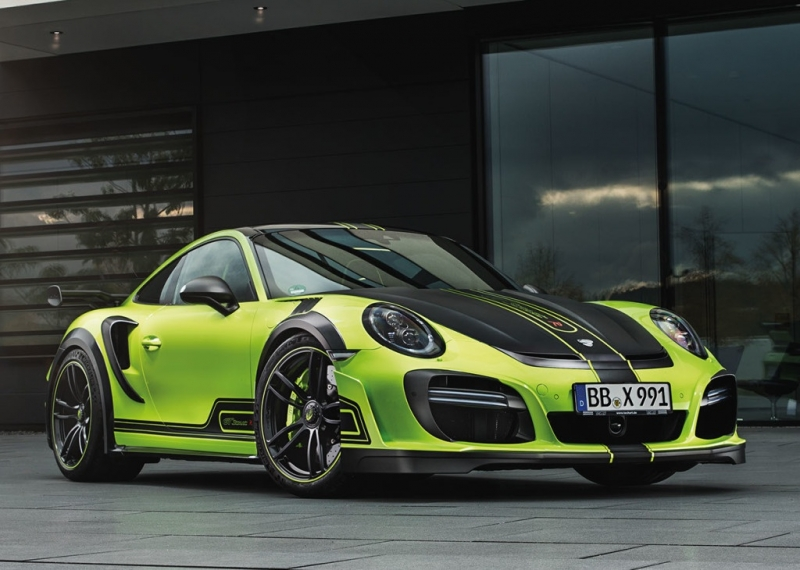 Extreme and Power in one car: Porsche 991-based Gtstreet R