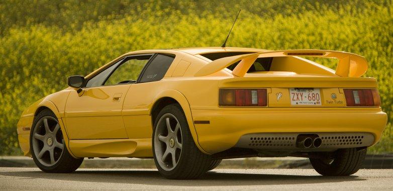 British supercar Lotus Esprit V8