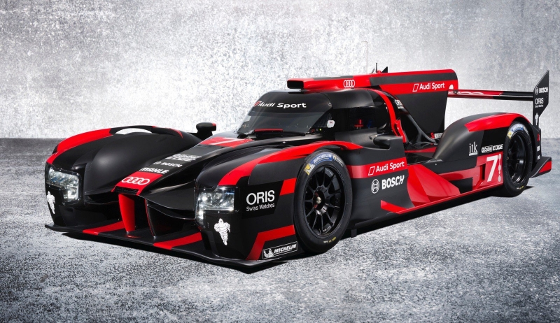The new 2016 Audi R18 e-tron quattro was unveiled yesterday in Munich