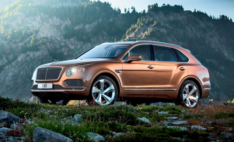 Mansory Bentley Bentayga is not officially made yet, but already here!