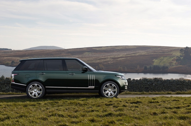 Range Rover and H&H company partnered on an exclusive SUV