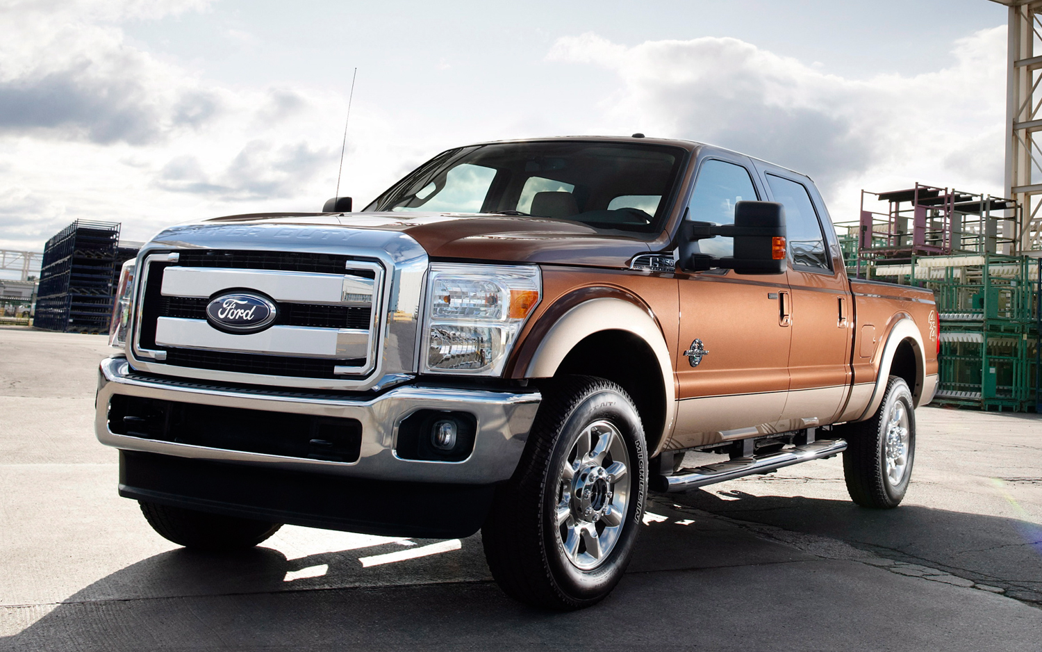 The much waited reveal of the 2017 Ford F-Series Super Duty