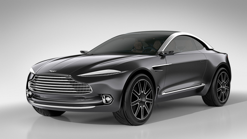 Aston Martin SUV May Have Over 700 Horsepower