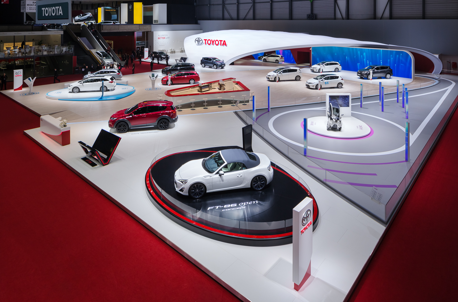 Toyota thoroughly prepared for the Frankfurt Motor Show