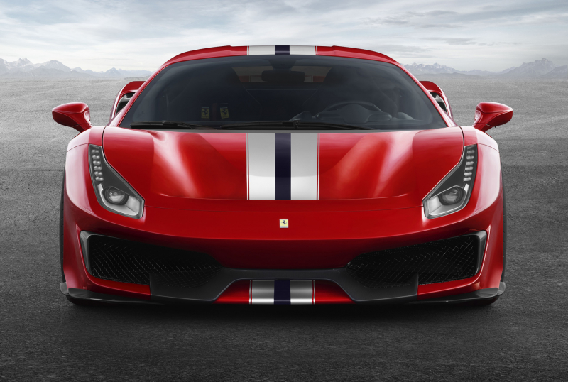 Ferrari takes the wraps off from its new track-focused supercar