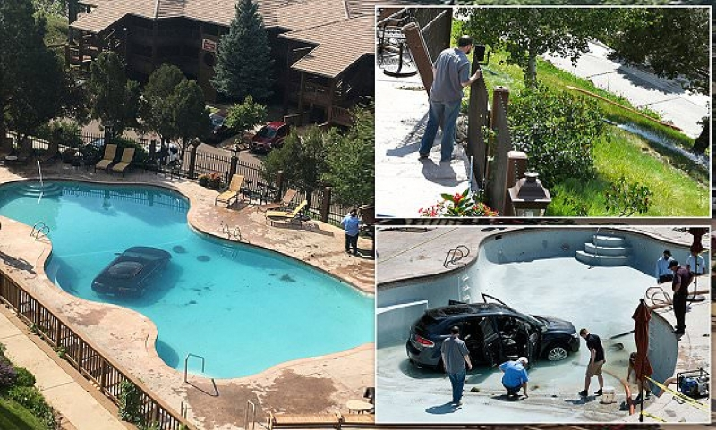 73-Year-Old Woman Drove Into A Swimming Pool