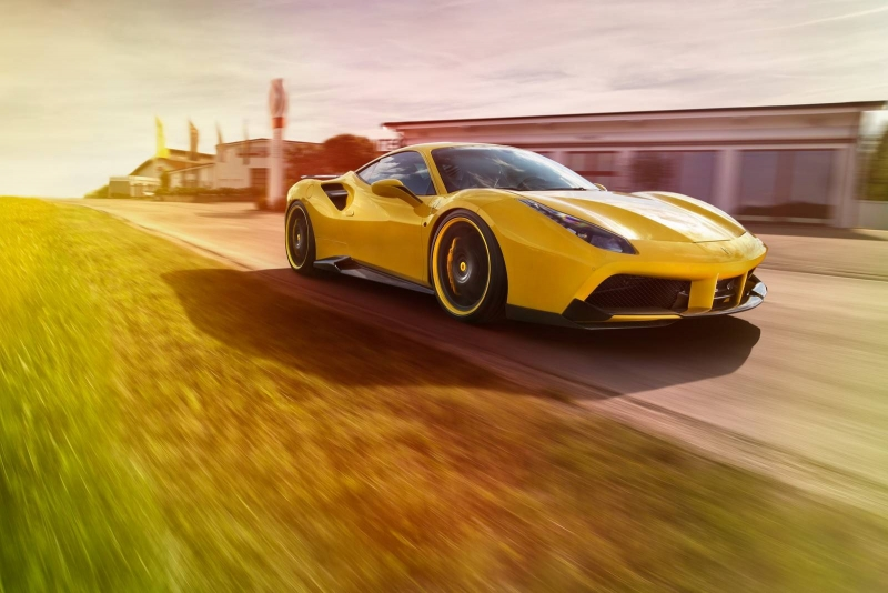 Novitec took the new Ferrari 488 GTB to a whole new level