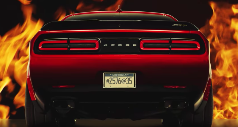 The Dodge Demon gets the widest front tires of any production car ever
