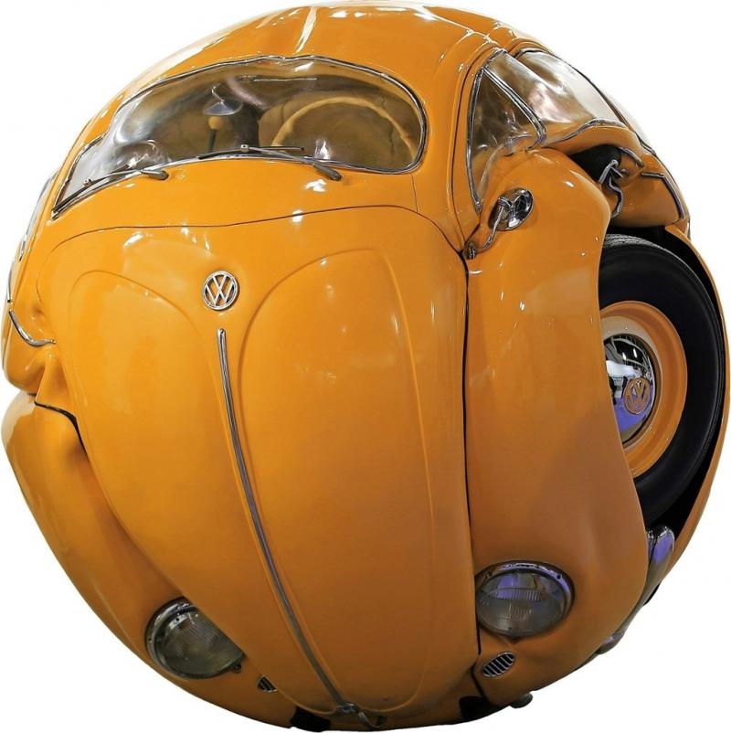 Beetle Sphere: Deformation as Art