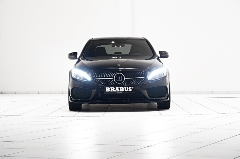 Better than a new Mercedes-Benz may be only a new tuned by Brabus Mercedes-Benz