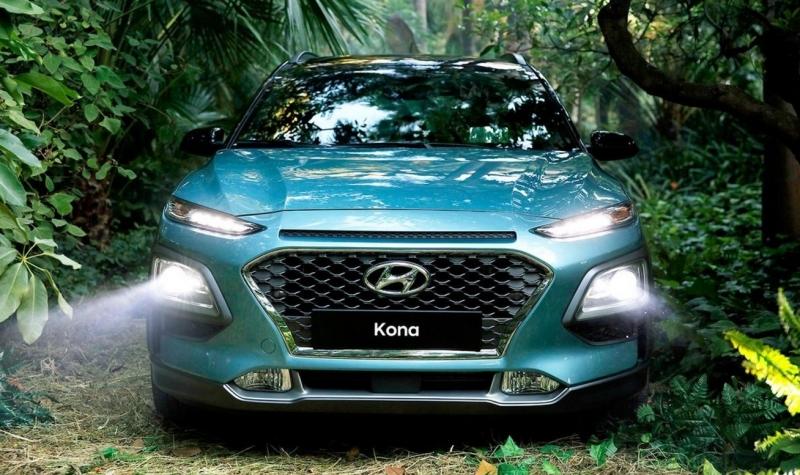New Kona – Hyundai's first sub-compact SUV
