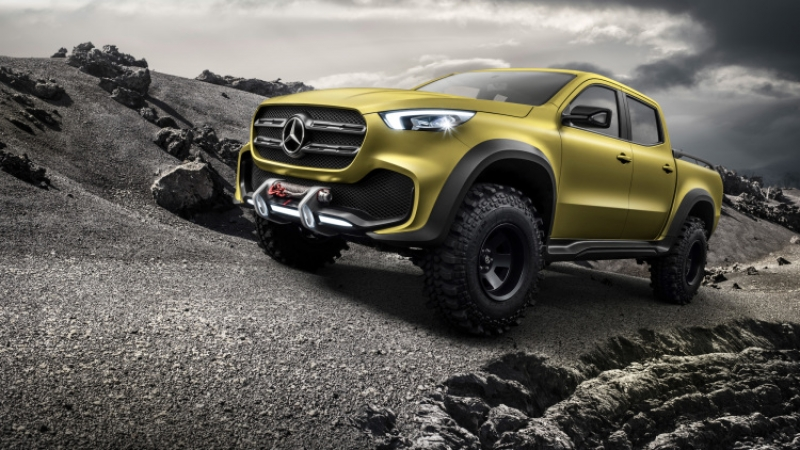 Mercedes-Benz reveals its stylish pickup truck