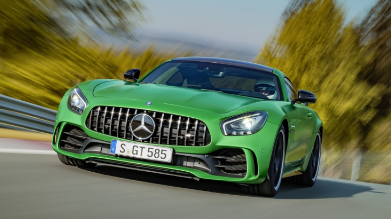 The 2018 Mercedes AMG GT gets more explosive variants!